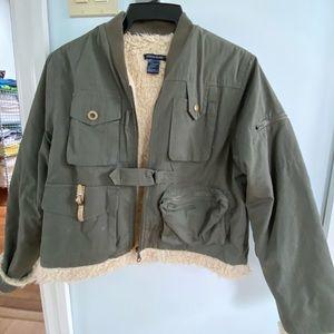 Boston Proper Military Style Jacket M